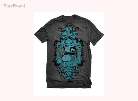 Blue-royal-cool-creative-tshirt-designs