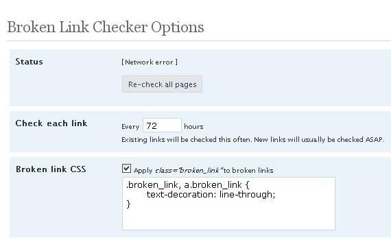 broken-link-checker-admin-plugins-for-wordpress ওয়ার্ডপেস এডমিনের জন্য ৩০টি শক্তিশালি প্লাগইন্স
