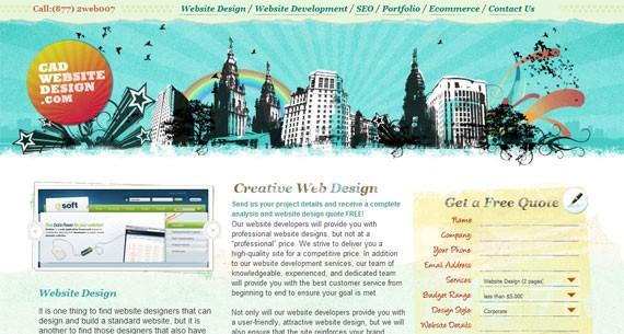 cadwebsitedesign-inspiring-header-designs