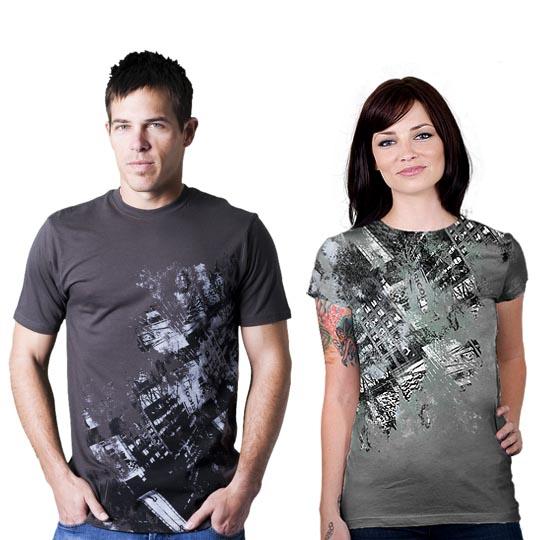 Downtown-cool-creative-tshirt-designs