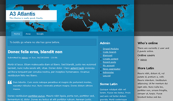 drupal-a3-atlantis-drupal-6-theme-web-design