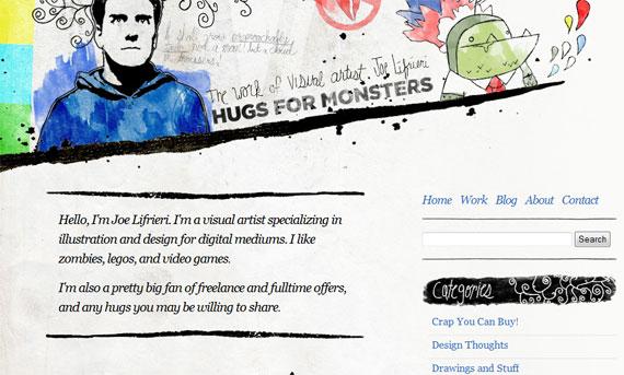 hugs-for-monsters-inspiring-header-designs