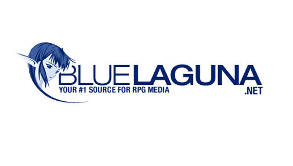 How to create blue laguna logo