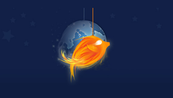 How to create a firefish mascot
