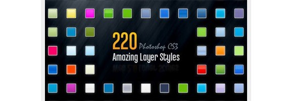 Ultimate Roundup of 750+ Free Photoshop Layer Styles