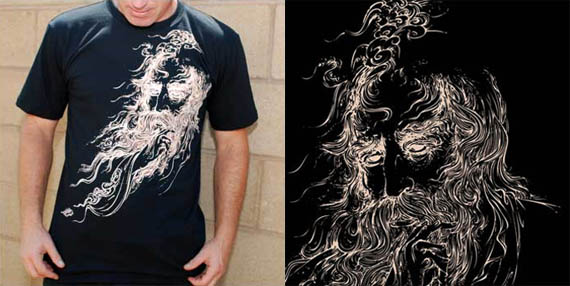 Zaal-persian-legend-cool-creative-tshirt-designs