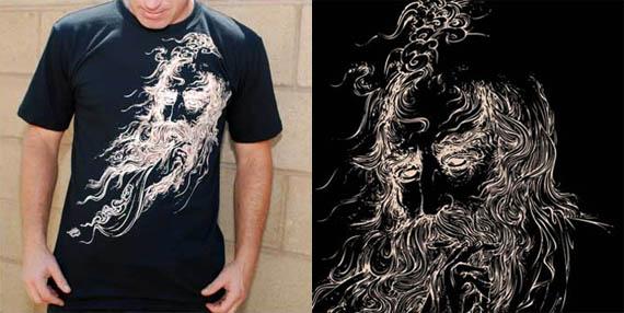 Zaal-persian-legend-cool-creative-tshirt-designs