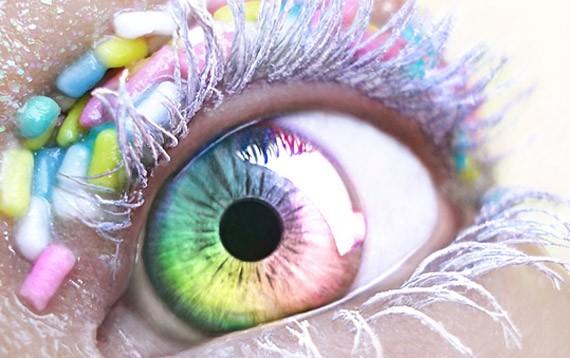 Как сделать на ярче глаза