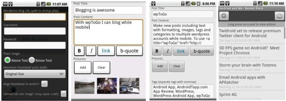 Complete Useful Android apps for bloggers and journalists