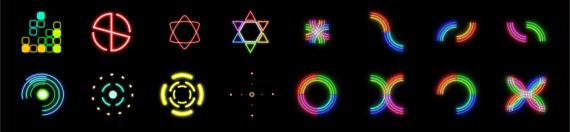 Неоновые иконки