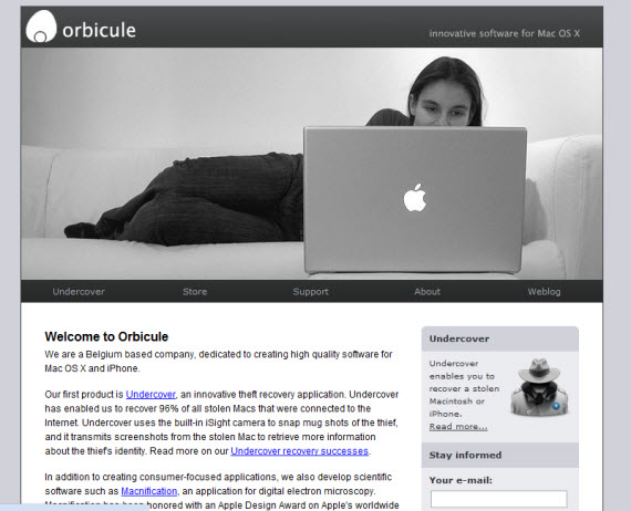 Orbicule-apple-inspired-website-designs
