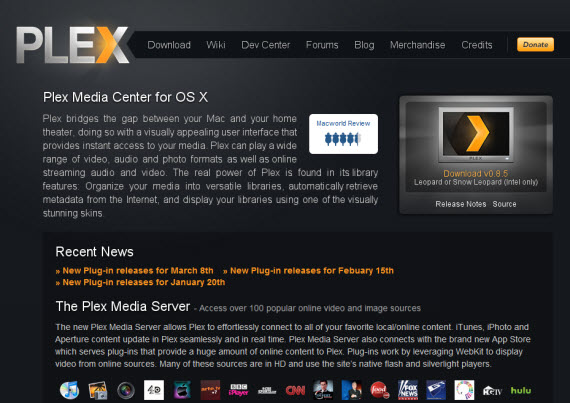 Plex-app-apple-inspired-website-designs