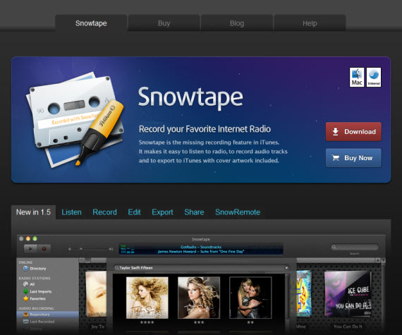 Snowtape-apple-inspired-website-designs
