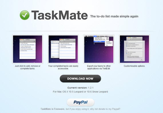 Task-mate-apple-inspired-website-designs