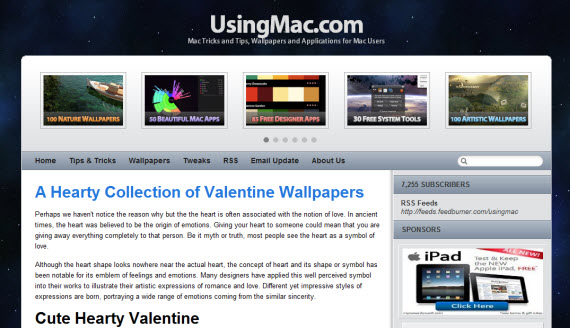 Using-mac-apple-inspired-website-designs