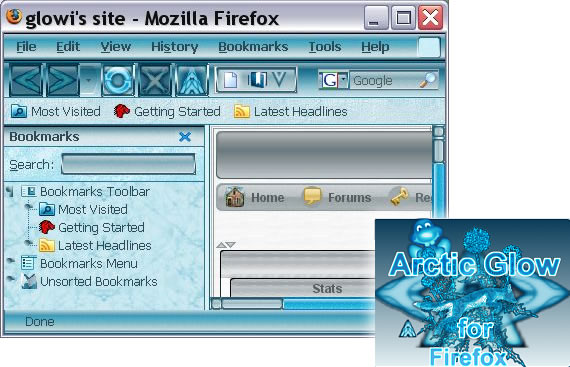 arctic-glow-professional-modern-firefox-themes