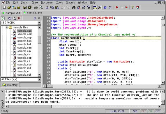 Crimson Editor Windows 7