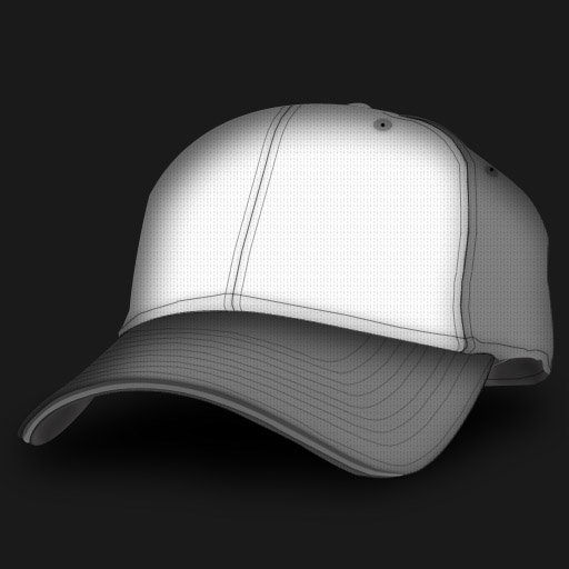 Curved-bill-baseball-templates-for-designers