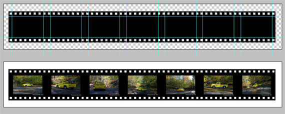 Film-strip-templates-for-designers