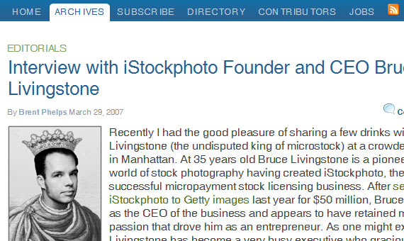 Bruce-livingstone-of-istockphoto-2-popular-designer-developer-interviews
