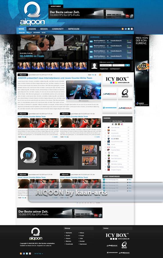 Aiqoon-web-design-deviantart-inspiration