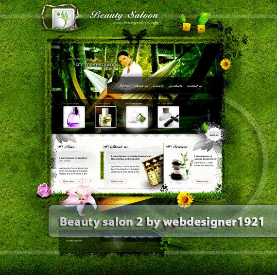 Beauty-salon-web-design-deviantart-inspiration