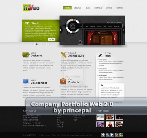 Company-portfolio-web-design-deviantart-inspiration