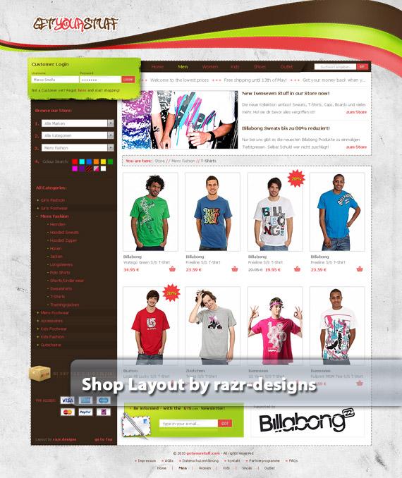 Get-your-stuff-web-design-deviantart-inspiration