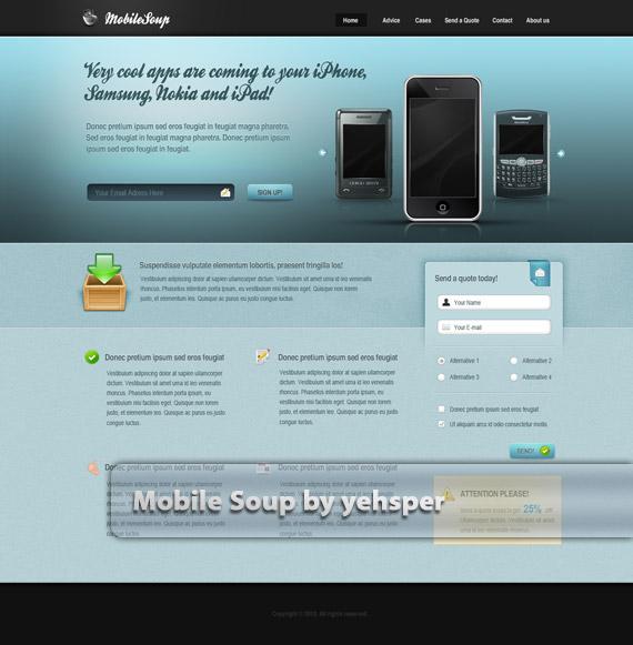 Mobile-soup-web-design-deviantart-inspiration
