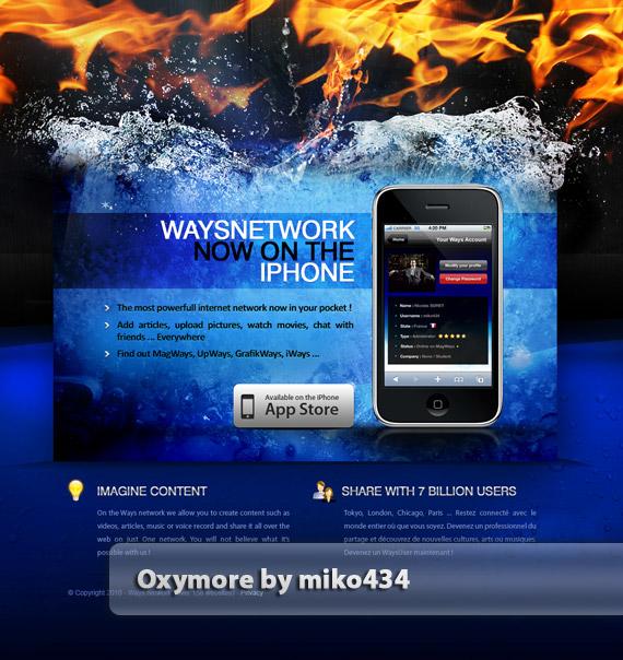 Oxymore-web-design-deviantart-inspiration