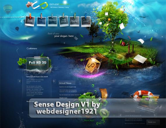 Sense--web-design-deviantart-inspiration