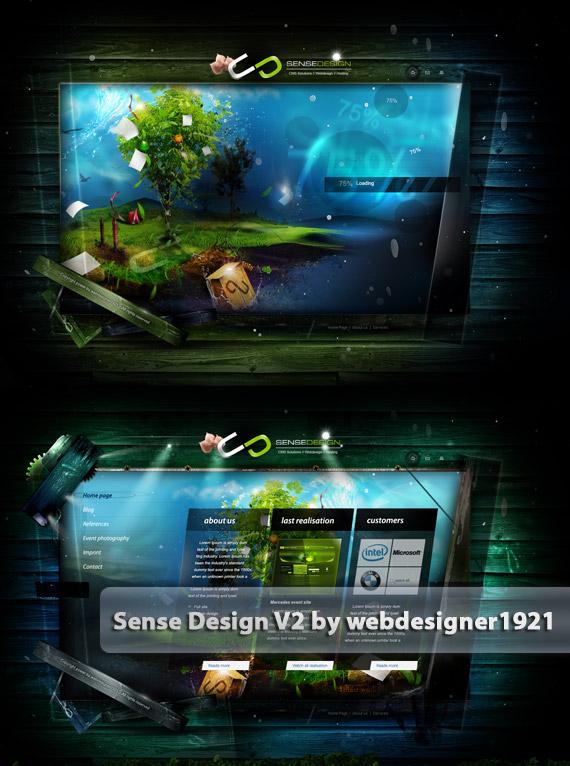 Sense-portfolio-v2-web-design-deviantart-inspiration