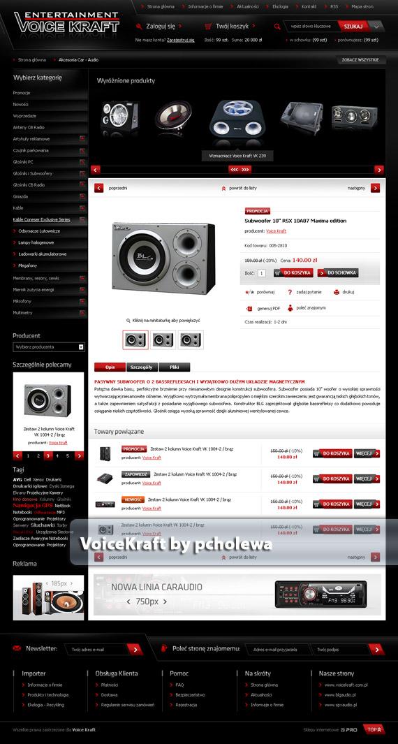 Voice-craft-web-design-deviantart-inspiration