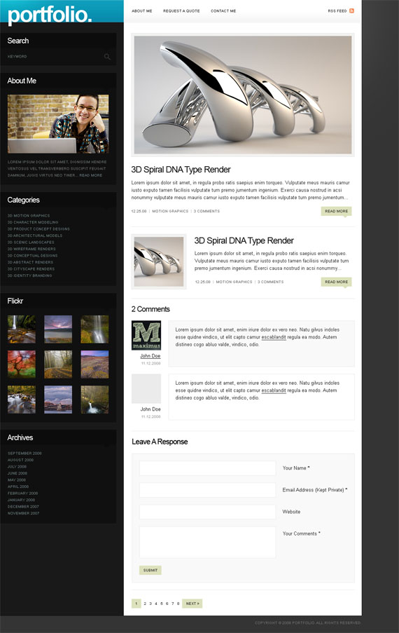 Folio-wordpress-theme-best-deviantart-groups-you-should-watch