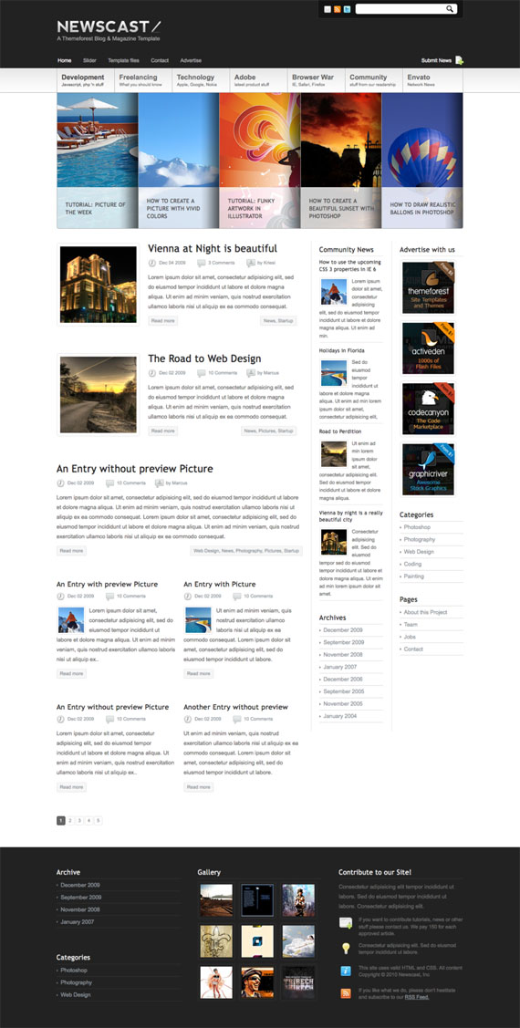 Magazine-blog-template-best-deviantart-groups-you-should-watch