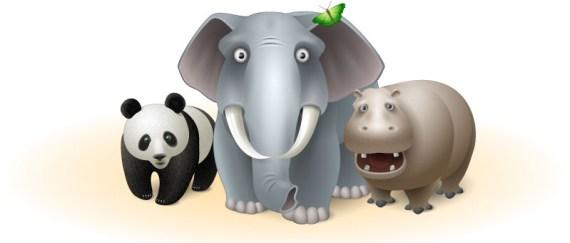 Бесплатные иконки в виде животных Vista