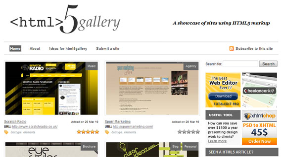 Gallery-html5-css3-tools-generators