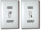Light-switch sprite