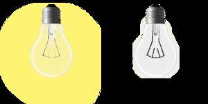 Light bulb sprite