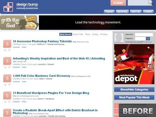 Designbump.com-snapshot-redesign-before