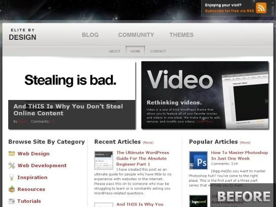 Elitebydesign.com-snapshot-redesign-before