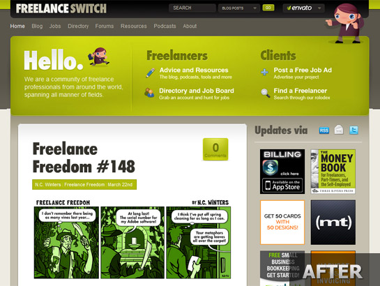 Freelanceswitch.com-snapshot-redesign-after-1