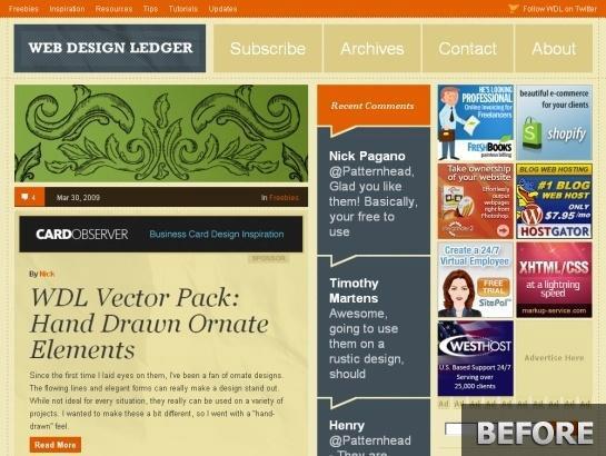 Webdesignledger.com-snapshot-before