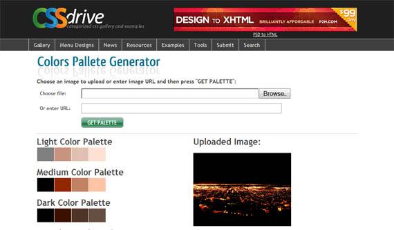 Colors-pallete-css-tools-generators