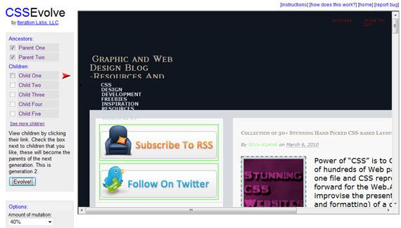 Evolve-useful-css-tools-generators