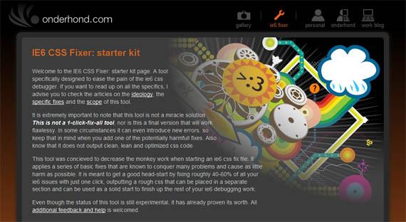 Ie6-fixer-useful-css-tools-generators