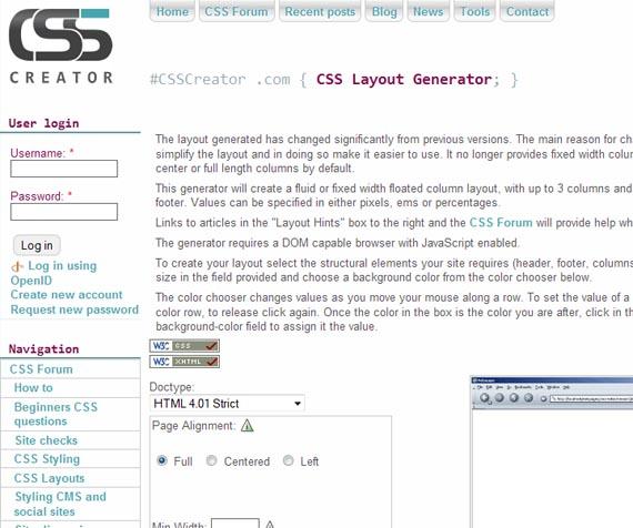 Layout-generator-useful-css-tools-generators