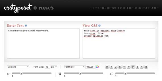 Typeset-useful-css-tools-generators