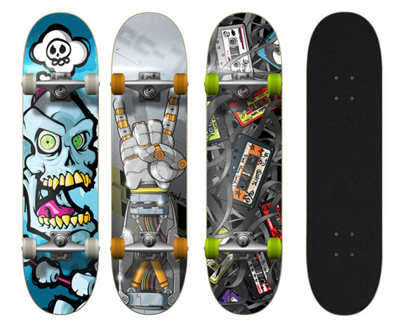 Jesse-creative-skateboard-designs