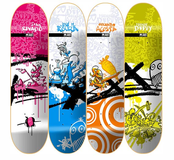 X-series-creative-skateboard-designs